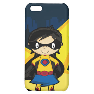 Pequeño caso del iphone 4 del super héroe