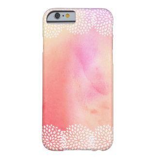 Pequeño caso del iPhone 6 de los flores de la Funda Para iPhone 6 Barely There