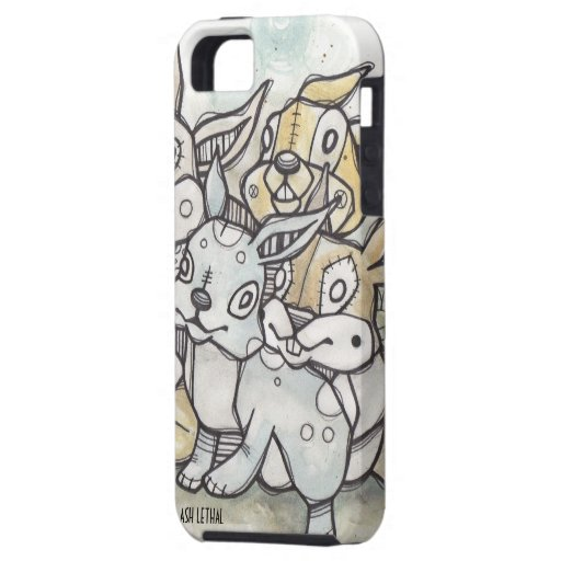 Pequeño caso del iPhone de //de los bribones iPhone 5 Fundas