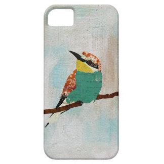 Pequeño caso del iPhone del pájaro del vintage iPhone 5 Case-Mate Cárcasas