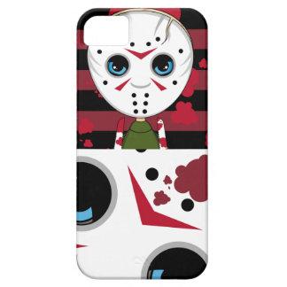 Pequeño caso enmascarado del iphone de Halloween Funda Para iPhone SE/5/5s