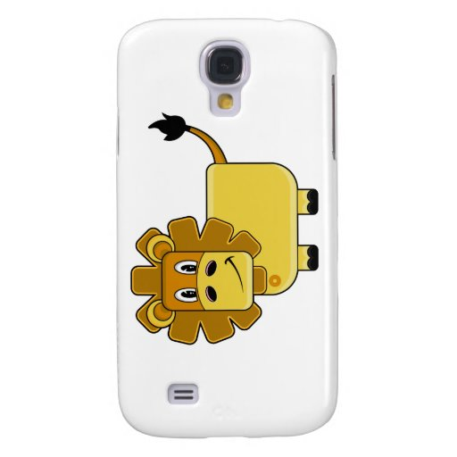 Pequeño caso lindo del iphone 3G del león