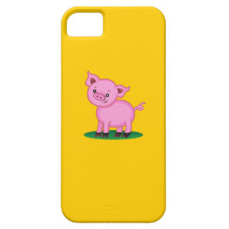 Pequeño caso lindo del iPhone 5 del cerdo iPhone 5 Case-Mate Carcasas