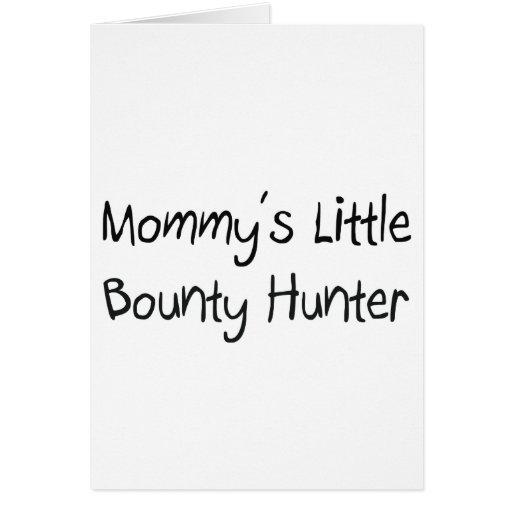 Pequeño cazador de tesoros de Mommys Tarjeta De Felicitación