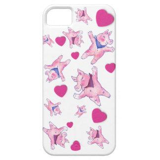 Pequeño cerdo del cerdo grande iPhone 5 cárcasa