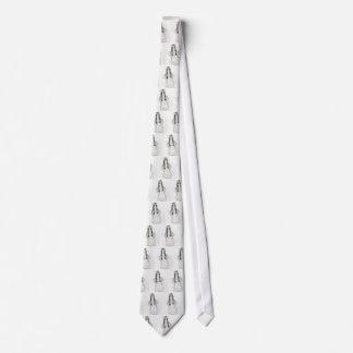 Pequeño chica alemán corbatas personalizadas