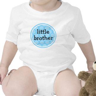 Pequeño círculo azul del lunar de Brother Traje De Bebé