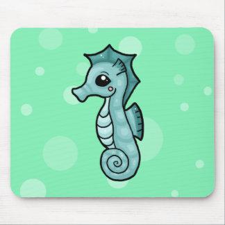 Pequeño cojín de ratón del seahorse tapete de ratones