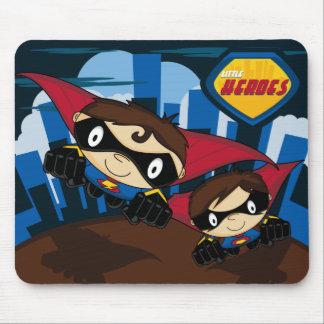 Pequeño cojín de ratón del super héroe de los héro mousepad