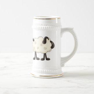 Pequeño cordero taza de café