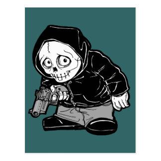 Pequeño-Cráneo Postales