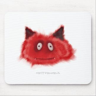 Pequeño Critter del diablo Alfombrilla De Ratones