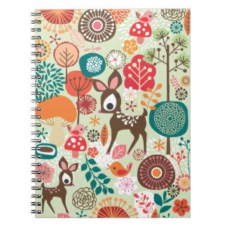 pequeño cuaderno de los ciervos