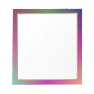 Pequeño cuaderno de notas de la nube de color mora bloc de notas