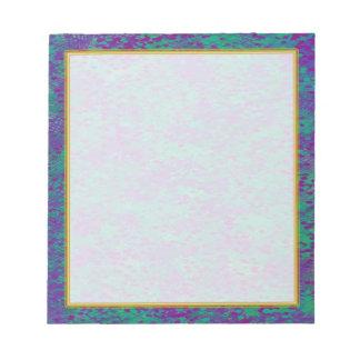 Pequeño cuaderno de notas del trullo púrpura libretas para notas