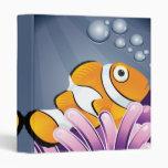 pequeño cuaderno lindo de los clownfish