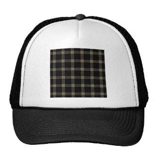 Pequeño cuadrado de cuatro bandas - de color caqui gorras de camionero