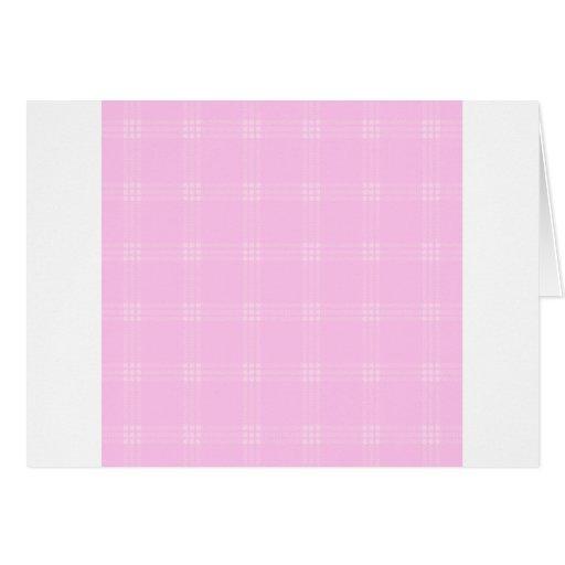 Pequeño cuadrado de cuatro bandas - Pink2 Tarjeta