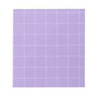 Pequeño cuadrado de dos bandas - Violet2 Blocs De Papel