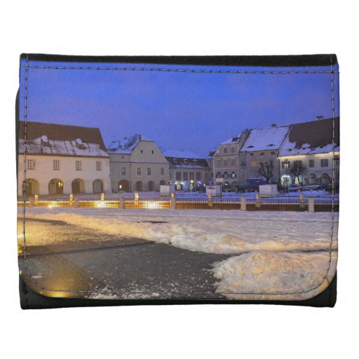 Pequeño cuadrado en la noche, Sibiu