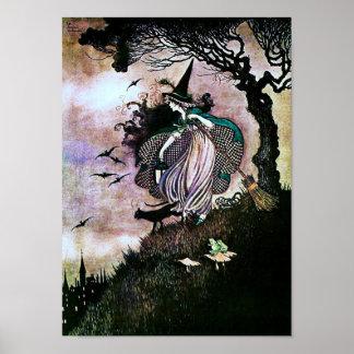 Pequeño ~ de la bruja póster