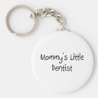 Pequeño dentista de Mommys Llavero Redondo Tipo Pin
