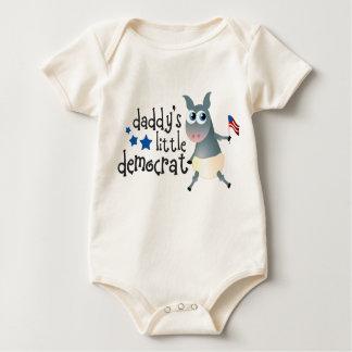 Pequeño desgaste infantil de Demócrata del papá Body Para Bebé