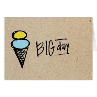 pequeño día grande de wobblies tarjeta pequeña
