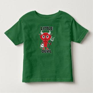 Pequeño diablo - camiseta fina del jersey del niño