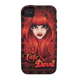 Pequeño diablo Case-Mate iPhone 4 fundas