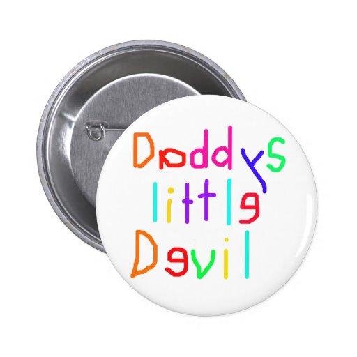 Pequeño diablo de Daddys Pin