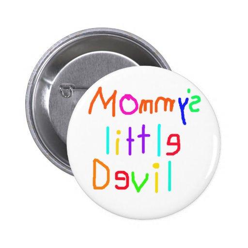 Pequeño diablo de Mommys Pins