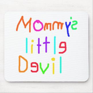 Pequeño diablo de Mommys Alfombrilla De Ratones