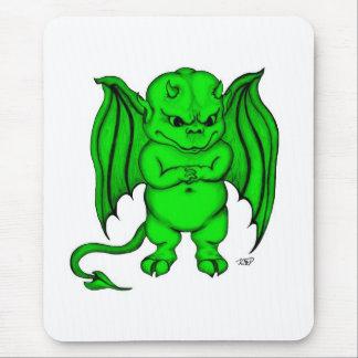 Pequeño diablo desagradable mousepad