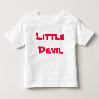 Pequeño diablo playera de bebé