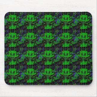 Pequeño diablo verde tapete de ratones