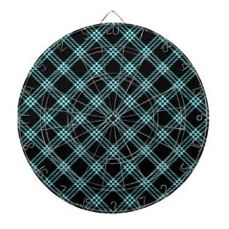 Pequeño diamante de cuatro bandas - azul eléctrico tablero de dardos