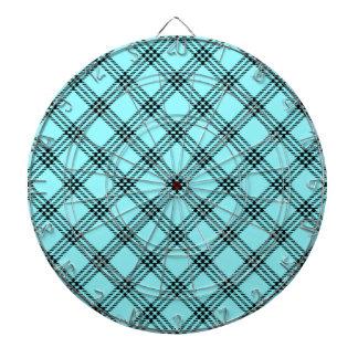 Pequeño diamante de cuatro bandas - negro en azul  tabla dardos