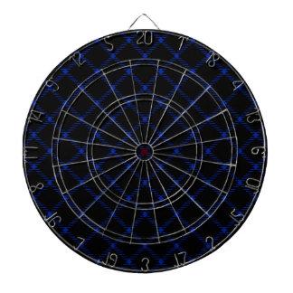 Pequeño diamante de dos bandas - azul imperial en  tabla dardos
