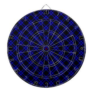 Pequeño diamante de tres bandas - azul en negro tabla dardos