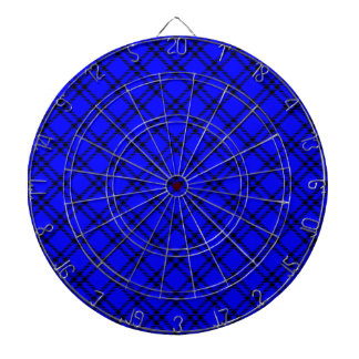 Pequeño diamante de tres bandas - negro en azul tabla dardos