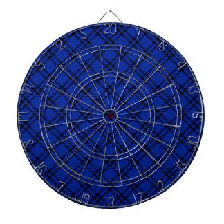 Pequeño diamante de tres bandas - negro en azul im tabla dardos