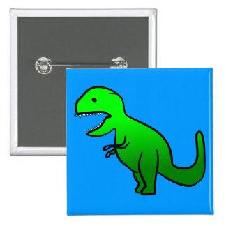 Pequeño Dino verde Pin