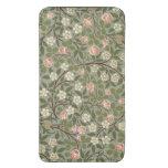 Pequeño diseño del papel pintado de la flor rosada bolsillo para móvil