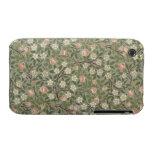 Pequeño diseño del papel pintado de la flor rosada Case-Mate iPhone 3 cárcasa