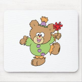 pequeño diseño festivo del oso de peluche del paya alfombrilla de ratones