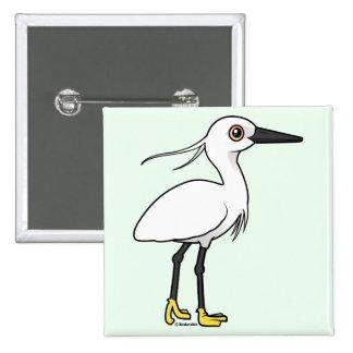 Pequeño Egret Pins