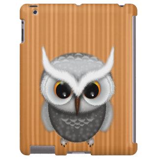 Pequeño ejemplo gruñón del búho funda para iPad