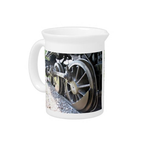 Pequeño el motor de vapor - rueda de la impulsión  jarra para bebida