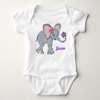 Pequeño elefante lindo tee shirt